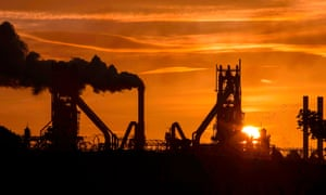 British Steel's plant in Scunthorpe. Unions said they welcomed Jingye's plan to invest in steelworks such as the Lincolnshire one but were concerned about implications for staff.