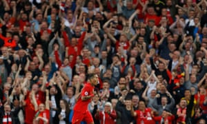 liverpool 4 1 leicester city premier league as it happened football the guardian liverpool 4 1 leicester city premier