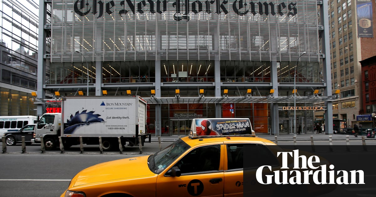 The New York Times Head Office In