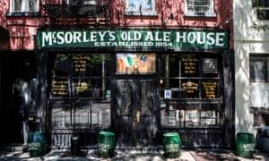McSorley's Old Ale House, East Village, Manhattan, New York.