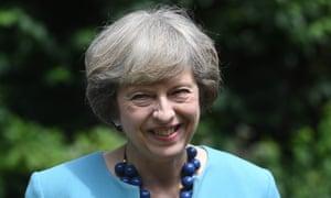 Prime minister Theresa May