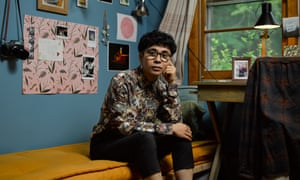 Ocean Vuong photographed at home in Massachusetts.