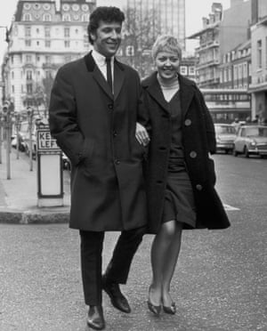 Tom Jones and wife Linda, pictured together in London in 1965, the year he found fame with It's Not Unusual