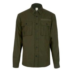 Khaki, £30, riverisland.com.