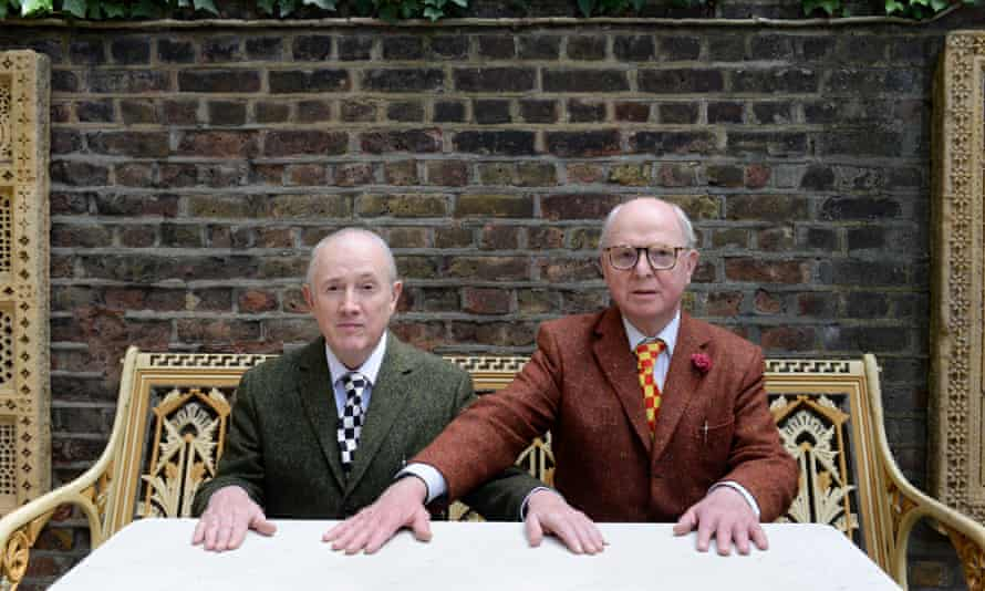 Gilbert and George: 'We saw it featured testicles and ... never looked back.'
