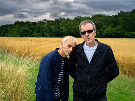 Karl Hyde and Rick Smith of Underworld.