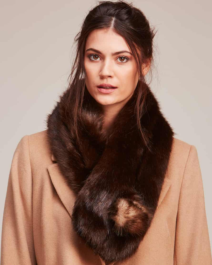 Soft and warm and cruelty-free: Helen Moore faux fur.