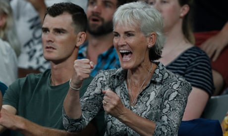 'I just get the sense Andy's not quite ready to quit yet', says Judy Murray