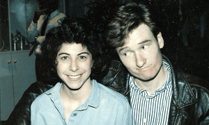 Nell Scovell with Conan O'Brien
