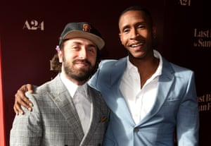 Joe Talbot and Jimmie Fails at the Last Black Man in San Francisco premiere.