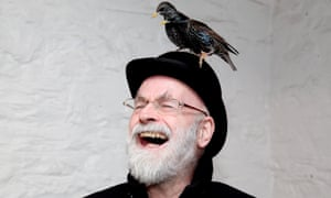 'We would sing loudly, joyfully, the wildlife fleeing before us': Terry Pratchett.