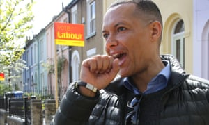 Clive Lewis MP campaigns for Labour in Norwich