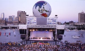 A picture of the 1988 World Expo, which was held in Brisbane, Australia, and is the subject of a book by Jackie Ryan, We'll Show the World: Expo '88 Brisbane's Almighty Struggle for a Little Bit of Cred (UQP)