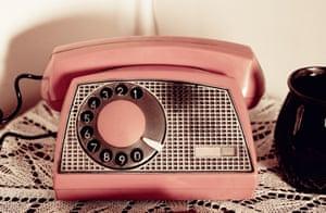 Retro rotary dial phone
