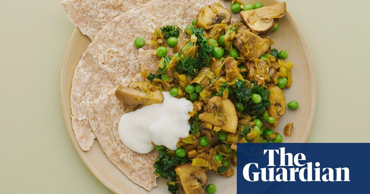Meera sodhas vegan recipe for leek mushroom kale and pea subji meera sodhas vegan recipe for leek mushroom kale and pea subji food the guardian forumfinder Images