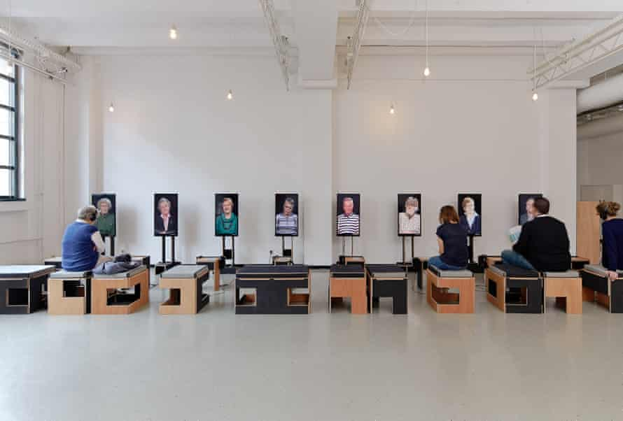 Face to face: Mats Staub's installation 21: Memories of Growing Up.