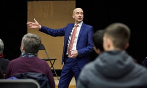 Andrew Adonis speaking at the Durham University Labour club.