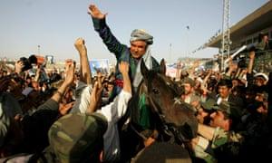 Afghan vice-president Abdul Rashid Dostum