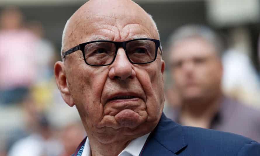 Rupert Murdoch said digital advertising had been 'tremendously damaging to print'.
