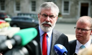 Gerry Adams congratulated Corbyn and said he counts the new Labour leader as a friend.