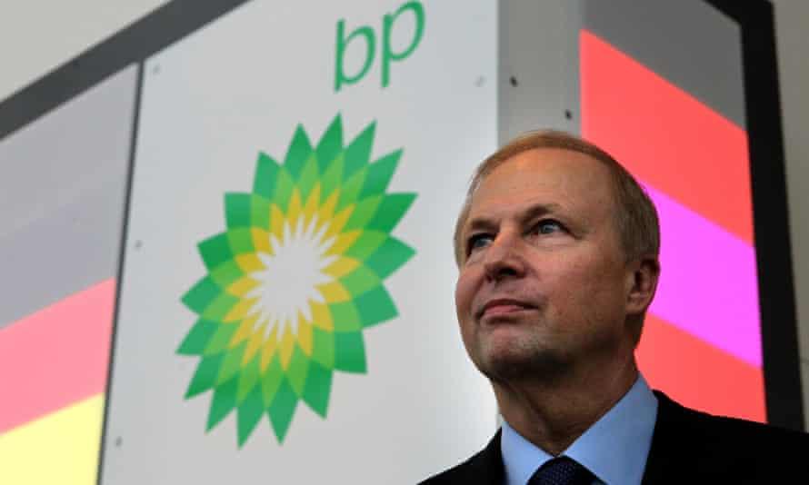 The BP chief executive, Bob Dudley