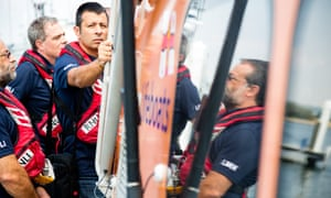 The future leaders in lifesaving course at the RNLI College in Poole trains people from around the world in how to prevent drowning.