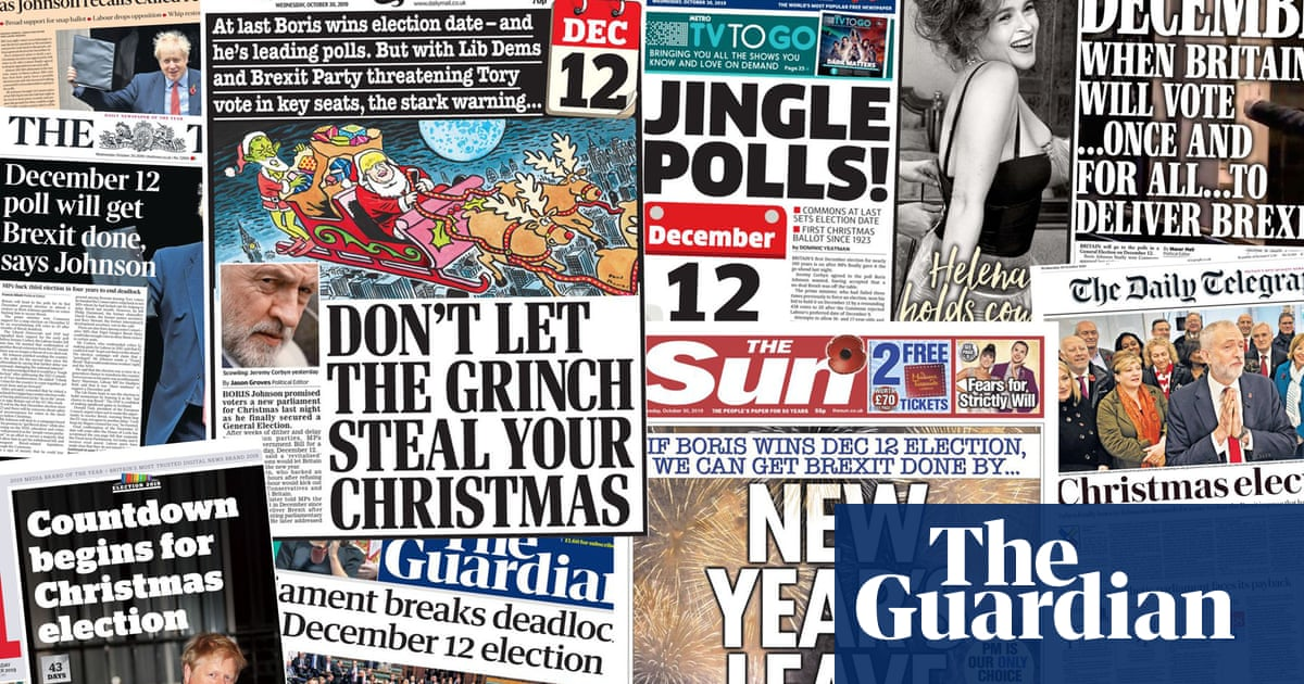 Jingle polls: how the papers covered Johnsons December election