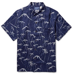 Mt Fuji £165, Blue Blue Japan (mrporter.com)