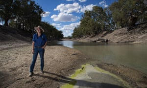 Kate McBride, whose family owns Tolarno station near Pooncarie NSW.