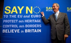 Nigel Farage of Ukip sets out the party's vision for a no vote in the EU referendum