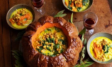Nigel Slater's meat-free Christmas recipes