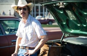 Matthew McConaughey in Dallas Buyers Club.