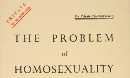 The Problem of Homosexuality report 1955.