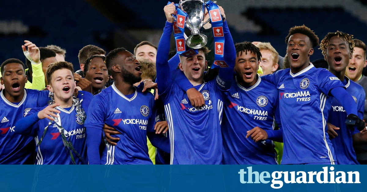 Chelsea's young guns dismantle Manchester City to secure FA Youth Cup