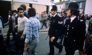 Brixton riots, London, 1981.