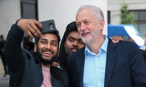 Corbyn on the campaign trail