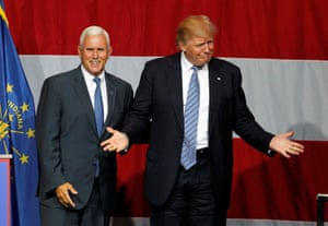 Donald Trump and Mike Pence.