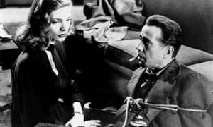 Lauren Bacall and Humphrey Bogart in Howard Hawks's The Big Sleep, which heightened Chandler's dialogue.