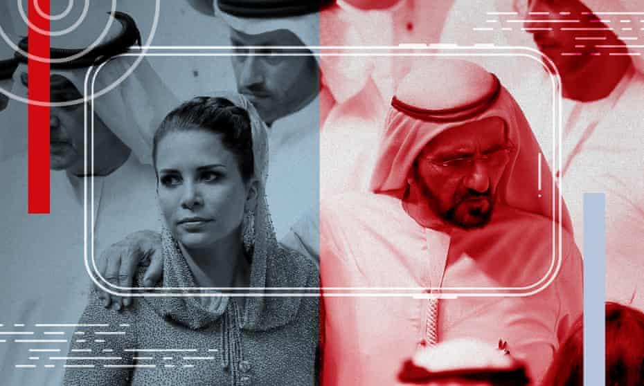 Princess Haya bint al-Hussein and her ex-husband Sheikh Mohammed bin Rashid al-Maktoum.