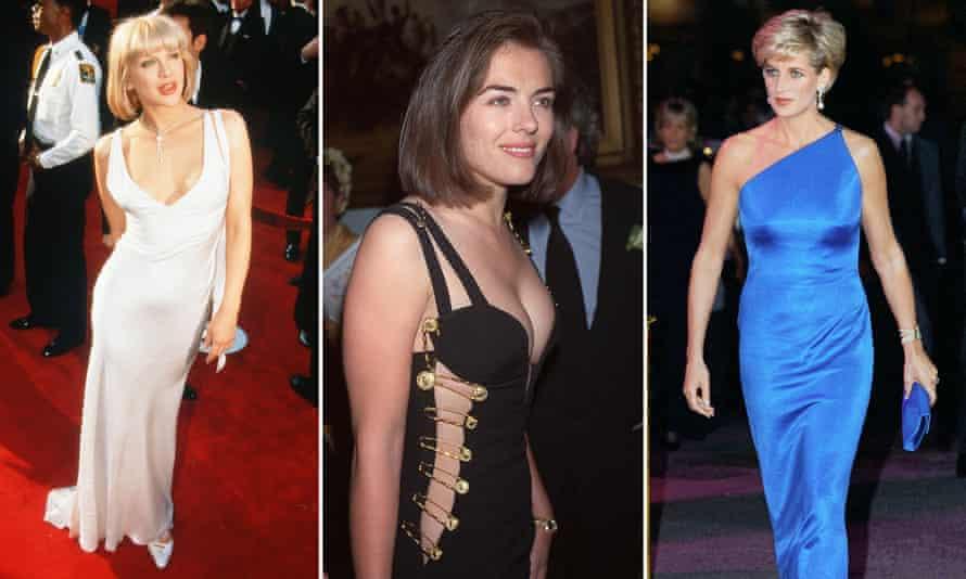 Courtney Love, Liz Hurley and Princess Diana