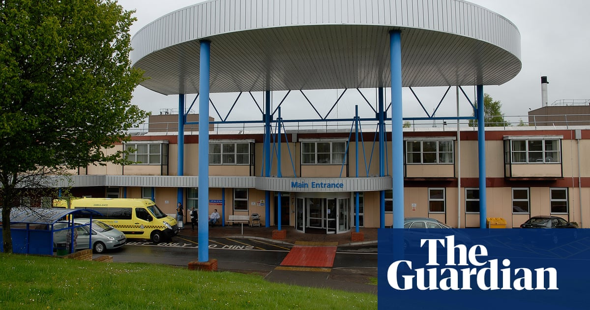 Warning over potential roof collapses at NHS England hospitals