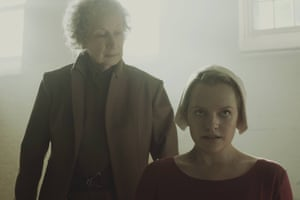 Margaret Atwood makes a cameo in The Handmaid's Tale
