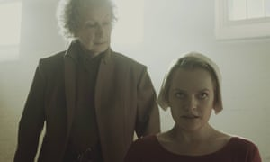 Margaret Atwood in her cameo in The Handmaid's Tale