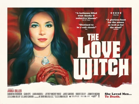 A poster for Anna Biller's 2016 film The Love Witch.