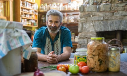 Author and fermentation expert Sandor Katz at his home in Tennessee, 8 September 2020.
