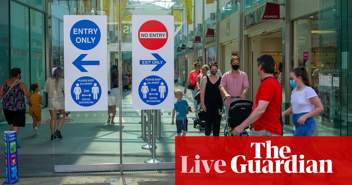 UK GDP: growth stalls as rising virus cases and shortages hit recovery – business live