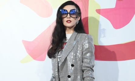 Fan Bingbing in March, promoting her eyewear range in Shanghai
