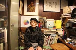 Ichiro Sekiguchi of Café de l'Ambre