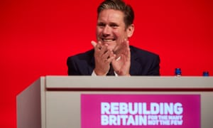 Keir Starmer at the Labour party's annual conference in Liverpool, 25 September 2018