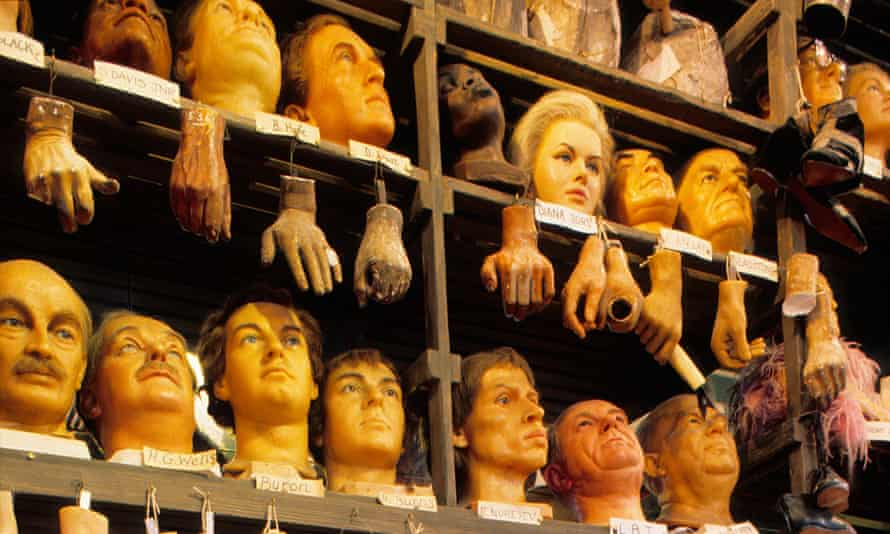 A world where things take on supposedly human characteristics … effigies at Madame Tussauds in London.